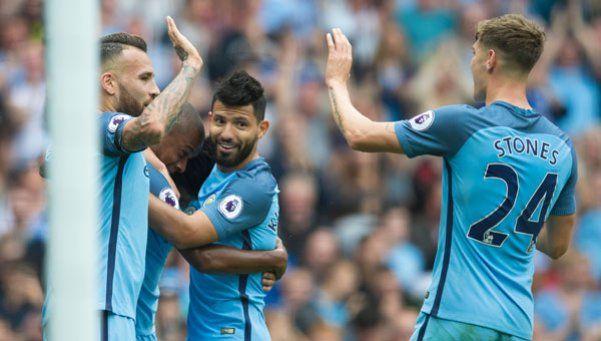 El duelo fue para el Kun: el City le ganó al West Ham de Calleri