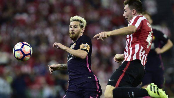 Messi siente leves molestias, pero estará en la Selección