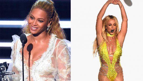 Beyoncé brilló en los Premios MTV y opacó a Britney
