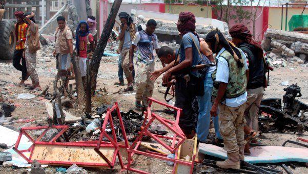 Impactantes imágenes: atentado en Yemen dejó un saldo de 71 muertos