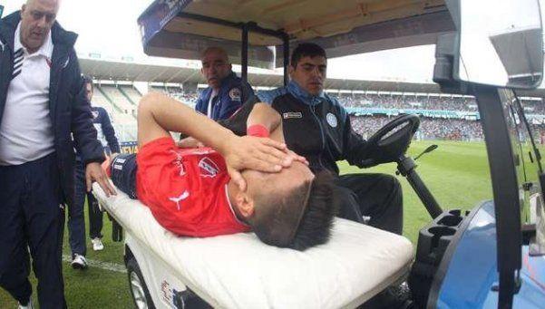 Leandro Fernández se rompió el ligamento cruzado anterior