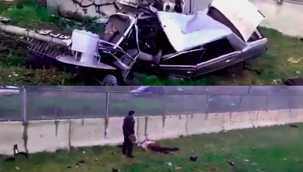 Tren embistió a un auto en José C. Paz: dos muertos y un herido