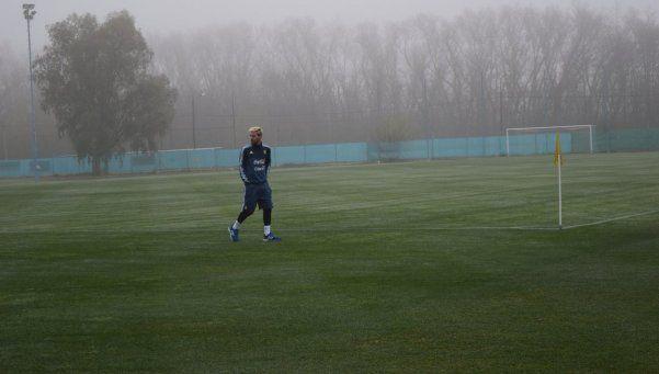 La foto más esperada: Messi, en Ezeiza con la Selección