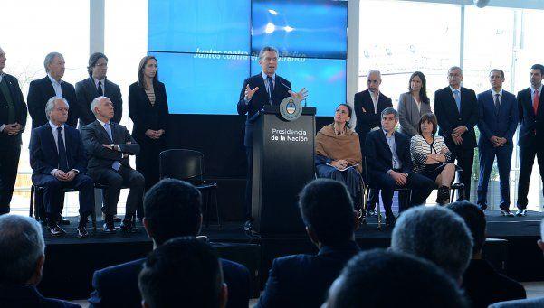 Macri lanzó un plan de lucha contra el narcotráfico