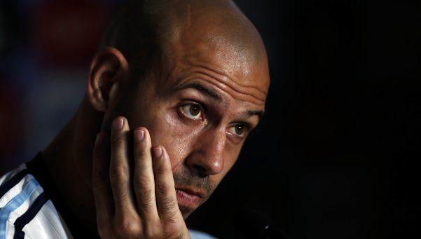 """Mascherano: """"La situación no ameritaba un cambio de entrenador"""""""
