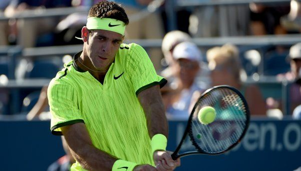 Del Potro volvió al US Open con un triunfo