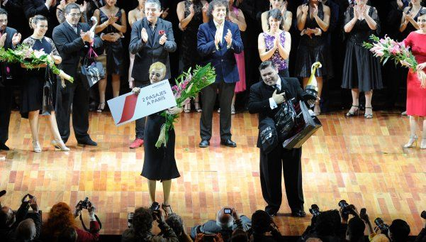 Pareja de Banfield es campeona mundial de tango