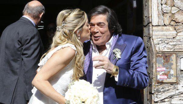Sí, quiero, por tercera vez: Cacho Castaña volvió a casarse