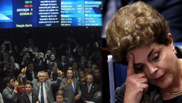 Quiénes son los senadores que destituyeron a Dilma
