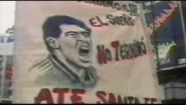 El día en que en plena Marcha Federal pidieron por Maradona