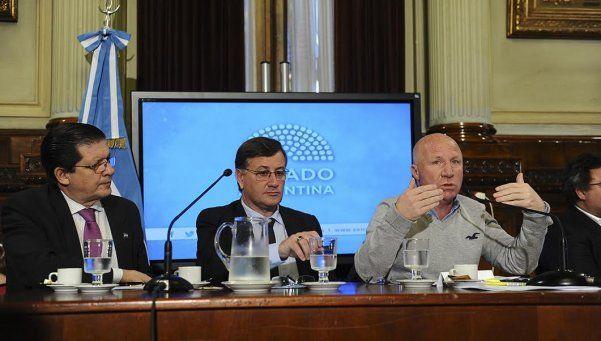 Mac Allister: Queremos impulsar una ley nacional de infraestructura deportiva