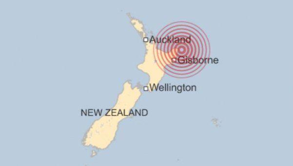 Terremoto y tsunami en Nueva Zelanda