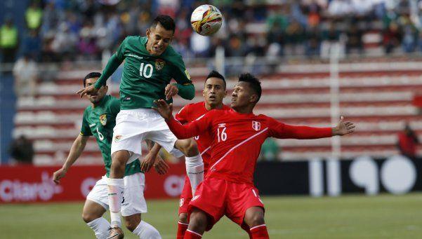 Bolivia venció a Perú y lo hundió en la tabla de posiciones
