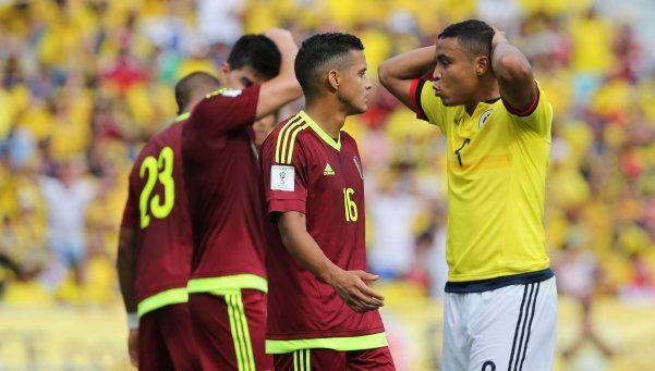 Colombia derrotó a Venezuela y sigue firme en su camino a Rusia