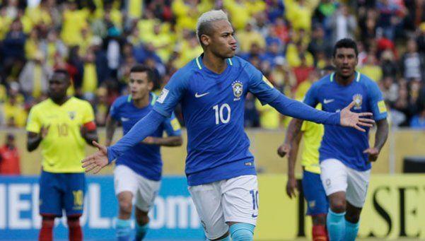 Con look y festejo a lo Messi, Neymar guió a Brasil hacia la victoria