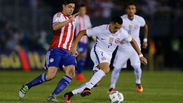 Paraguay le puso garra y dejó de rodillas a Chile