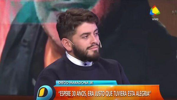 """Diego Jr: """"Me gustaría juntarme con todos mis hermanos"""""""