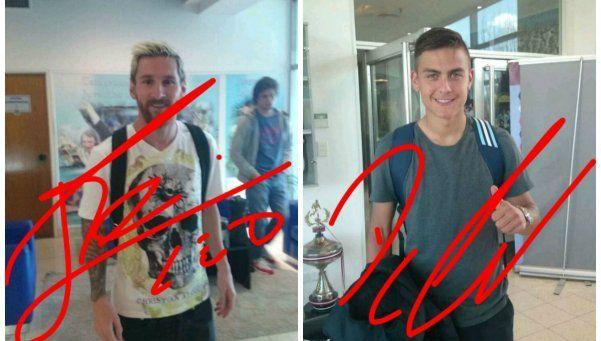 Ponele la firma: la Selección se divierte en Snapchat