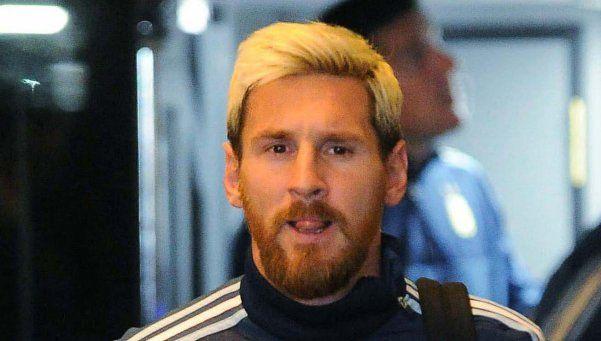 Messi llegó a España y ya piensa en la recuperación