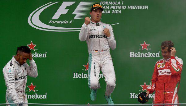 Rosberg ganó en Monza y puso el campeonato de la F1 al rojo vivo