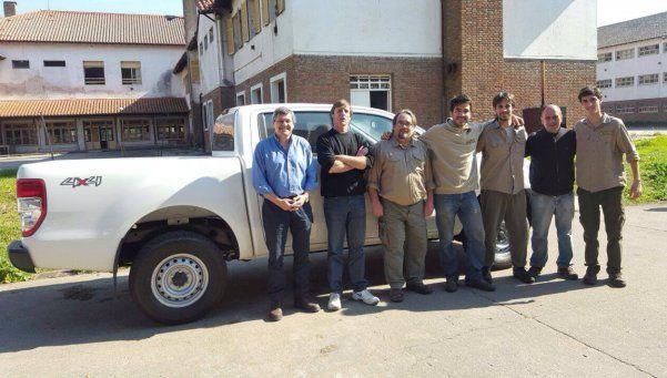 OPDS entregó vehículo a guardaparques de la Reserva Laguna de Rocha