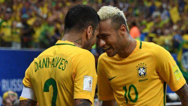 Neymar se llevó los flashes en la victoria ante Colombia