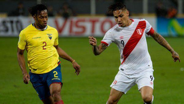 Perú encontró aire y le ganó a Ecuador