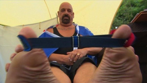 Existe un campeonato mundial de pulseadas de pie