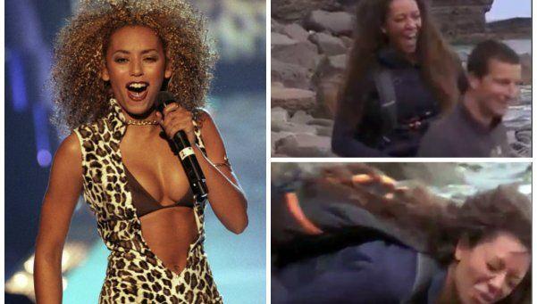 Video | Una ex Spice Girls orinó sobre un hombre