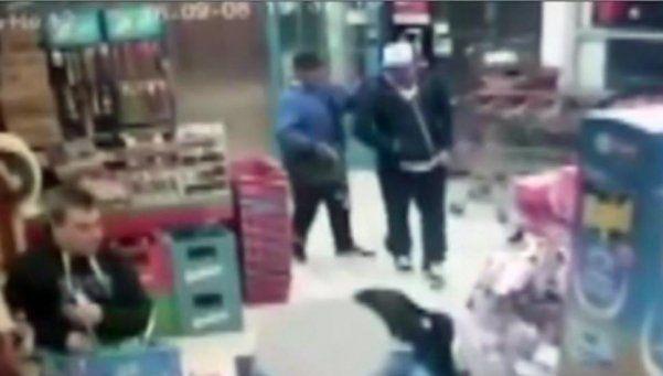 Video | Así fue el tiroteo donde murieron un policía y dos ladrones