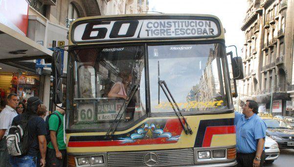 Línea 60: Trabajo dictó conciliación obligatoria y hoy se reanuda el servicio