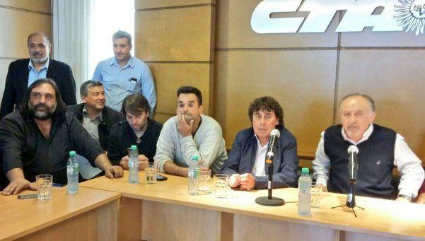 Tras reunirse con Triaca, Micheli y Yasky anunciaron paro nacional