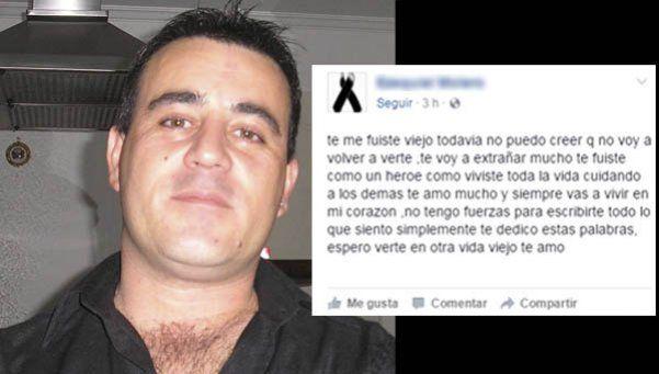 El desgarrador mensaje de despedida del hijo del policía héroe