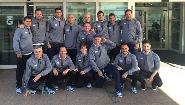 Copa Davis: Argentina ya está en Glasgow para disputar la semifinal