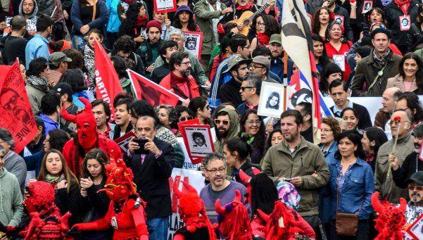 Chile: recordatorio y violencia a 43 años del golpe de 1973