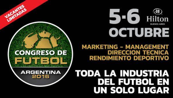 El congreso de fútbol que juntará a Angelici y DOnofrio