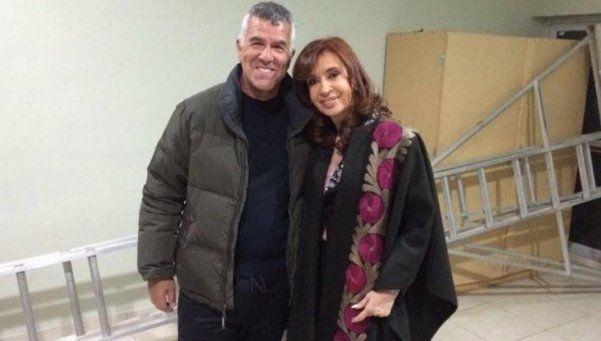 Dady Brieva contó cómo fue su encuentro con Cristina en El Calafate