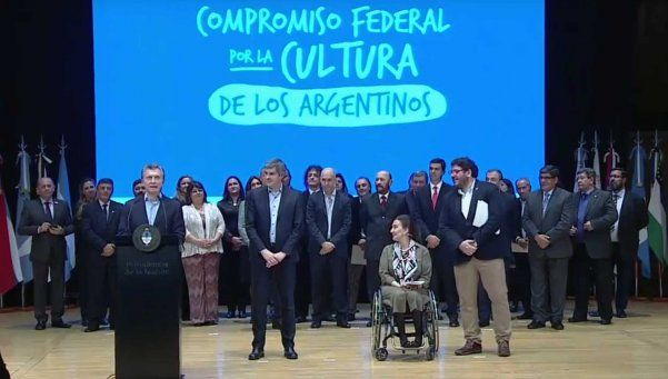 Macri destacó el rol de la cultura para construir una Argentina federal