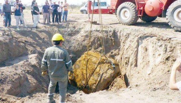 El segundo meteorito más grande del mundo es argentino