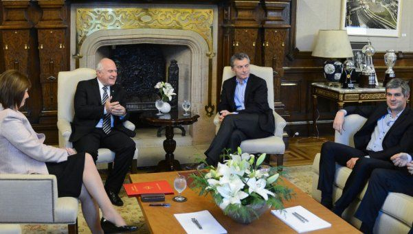 Macri se reunió con Lifschitz para luchar contra el narcotráfico