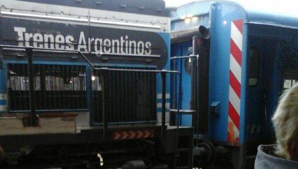 Tren Roca: una mala maniobra provocó 18 heridos