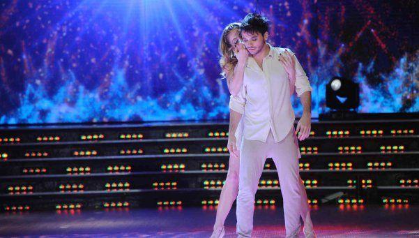 Agustín Casanova deslumbró en el Bailando con novedosa coreo