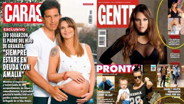 Pau Linda tenía razón: Amalia y Leo son tapa de todas las revistas