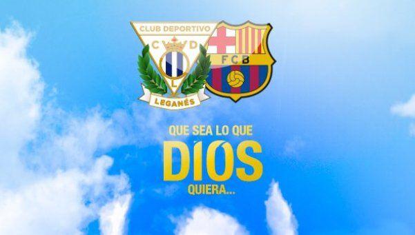 ¿Entregados? La promoción del Leganés para recibir al Barcelona