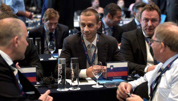Un esloveno, elegido nuevo presidente de la UEFA