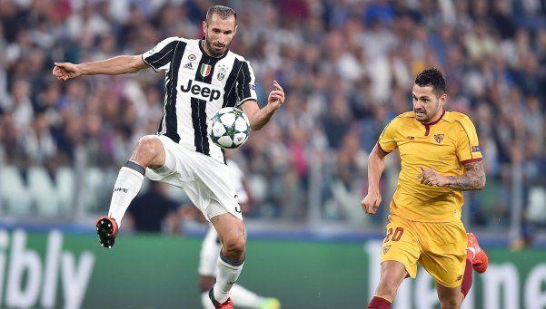 Juventus y Sevilla no pudieron romper el cero en su debut de Champions