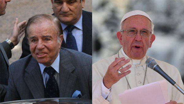 Tras reunirse con el Papa Francisco, Menem elogió a Macri
