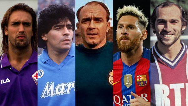Agüero llegó al gol 300: los otros 5 argentinos que lo lograron