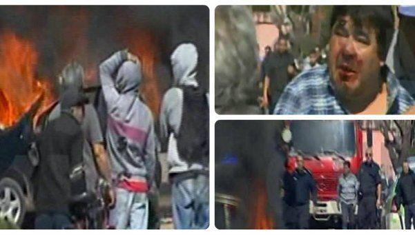 Tensión, incidentes y dos apuñalados en el barrio La Morita
