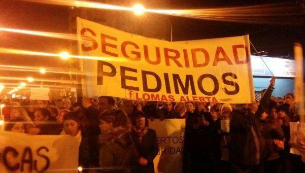 Vecinos de Lomas volverán a marchar contra la inseguridad